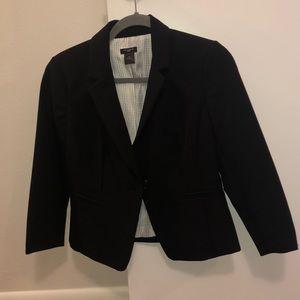 Ann Taylor petite black blazer